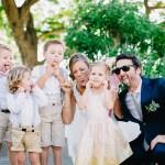 Mariage Ma Régisseuse wedding planner La Réunion enfants grimace just married
