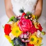Shooting inspiration mariage mexicain Ma Régisseuse La Réunion bouquet fleurs couleurs