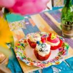 Shooting inspiration mariage mexicain Ma Régisseuse La Réunion cupcakes couleurs