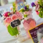 Mariage Réunion Ma Régisseuse wedding planner décoration table fleurs marque table