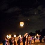 Mariage Réunion Ma Régisseuse wedding planner lâcher de lanternes