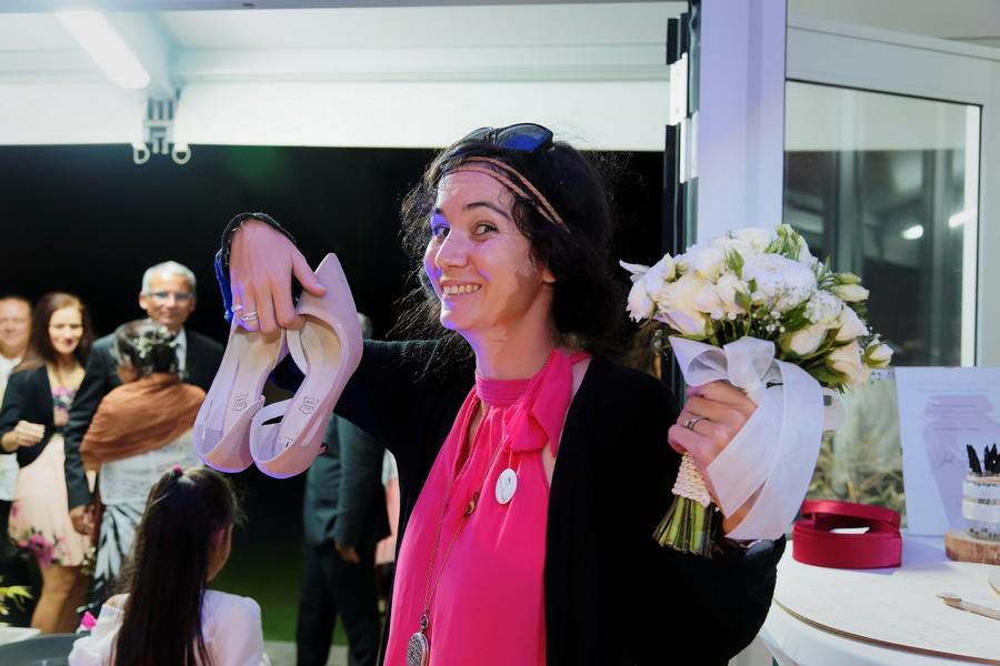 Mariage Réunion Ma Régisseuse wedding planner chaussures bouquet fleurs
