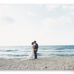mariage, amour, plage,