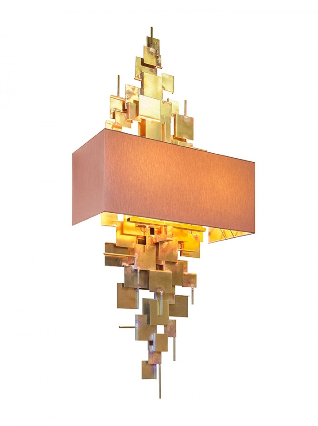 Design Wandlampen Abe Wandlamp Ruw Messing By Lotz Design Wandlampen