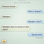 Funny Text Messages Knock Jokes