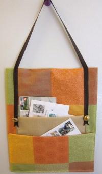 Sewing project  Hanging mail sorter  Margarete Miller