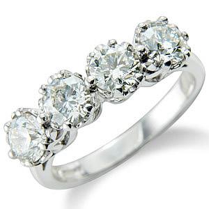Diamond rings 4 stones jewellery Northern Ireland