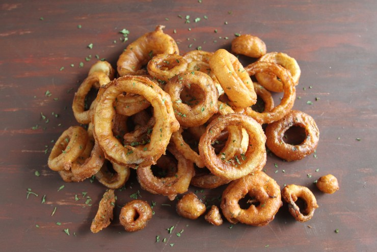 Game Day Recipes: Onion Rings