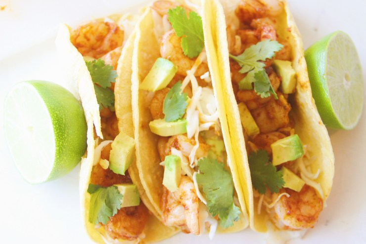 chipotle lime shrimp tacos