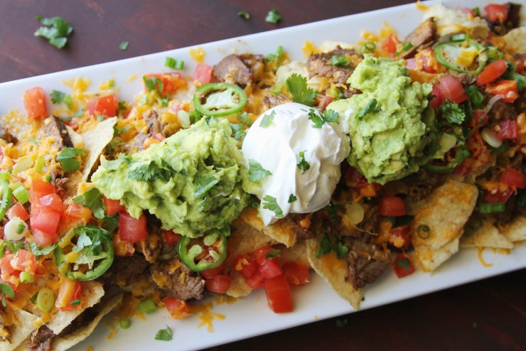 Game Day Recipe: Layered Steak Nachos