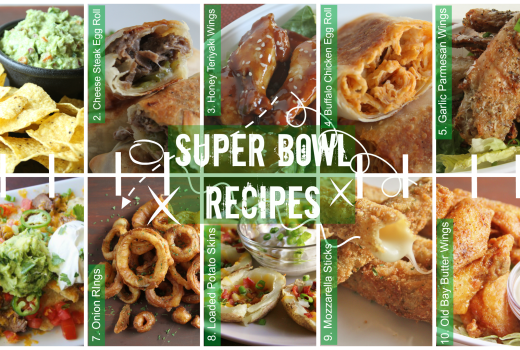 Game Day: Super Bowl Recipes