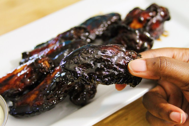 Oven Baked Honey Teriyaki Chicken Wings Recipe