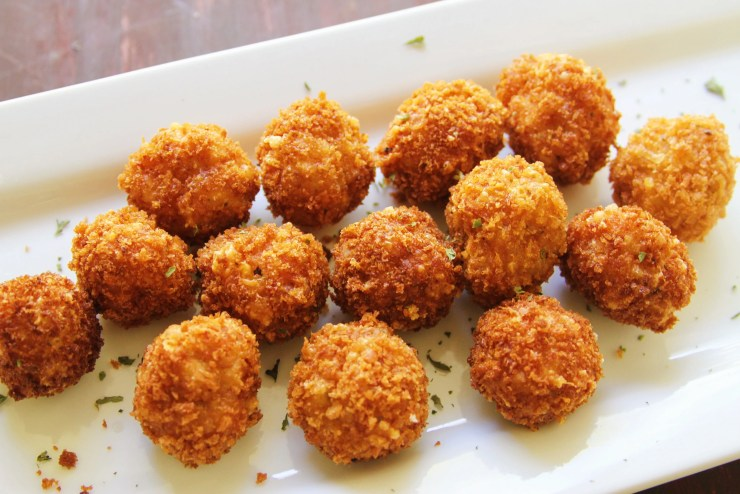 Crab & Shrimp Balls! Perfect Game Day Recipe