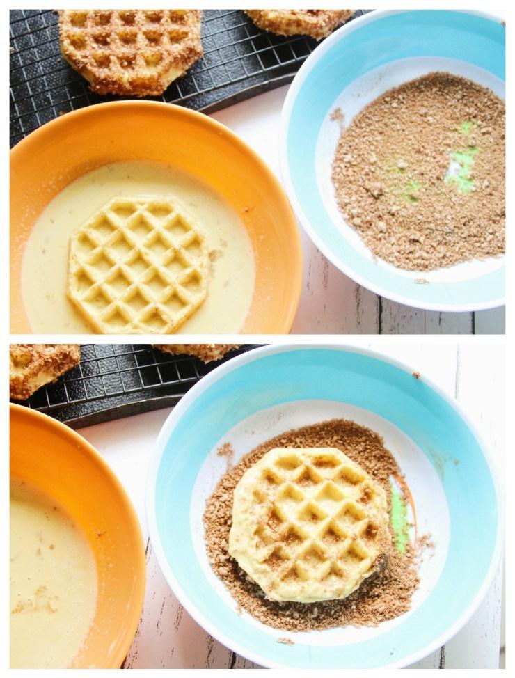waffle breaded
