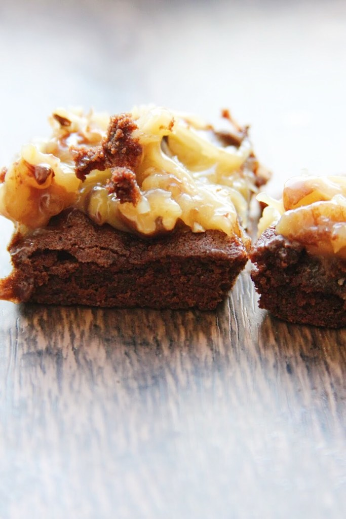 German Chocolate Cookie Bars!