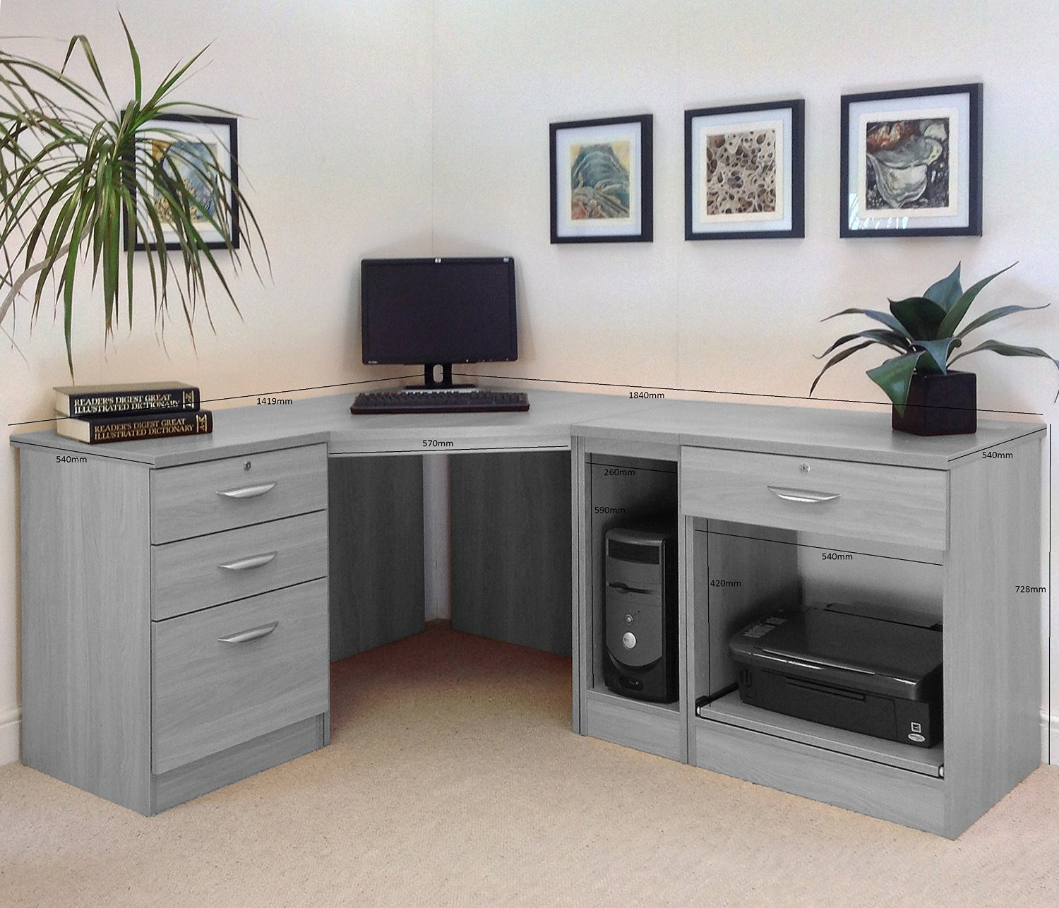 Office Desks Uk Home Office Furniture Uk Desk Set 18 Margolis Furniture