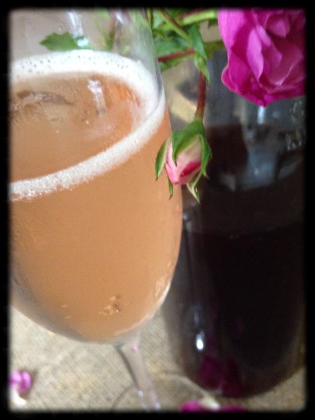 Rose cordial