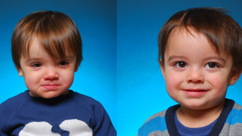 The twins at 18 months