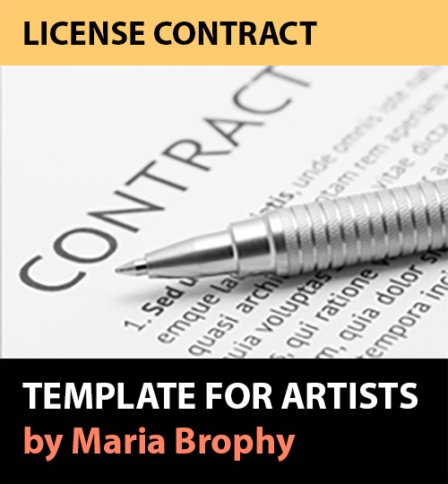 Three Reasons Artists Would Need to use A Contract - Maria Brophy - writing contract agreements