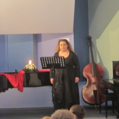 Photo: Association Archive / Performance in the Mmunicipal conservatory of Kalamata / Soprano Katerina Palaiologou