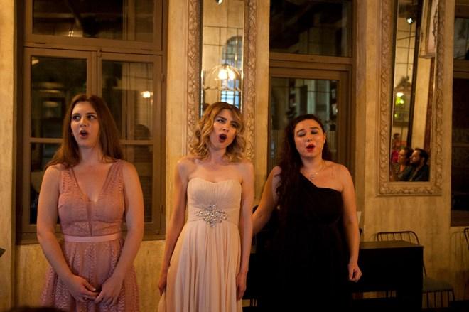 Opera Gala / Soprano Maria Tsoni, Smaragda Vangeli and Georgette Xaralampidou / Photo by George Stathopoulos