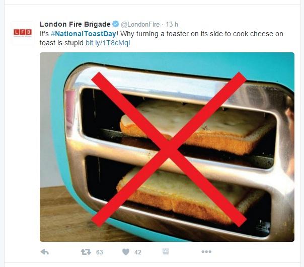 toast firemen