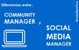 #CommunityManager vs #SocialMediaManager