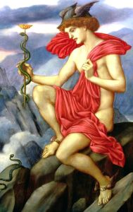 Evelyn_de_Morgan_-_Mercury,_1870-1873