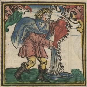 Deutsche Fotothek Astrologie & Sternzeichen & Kalender Aqua
