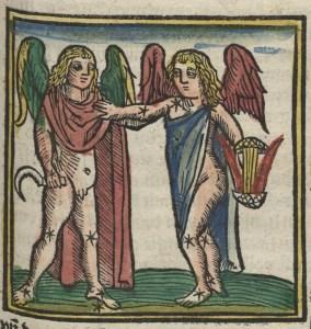 Deutsche Fotothek Astrologie & Sternzeichen & Kalender Gemini