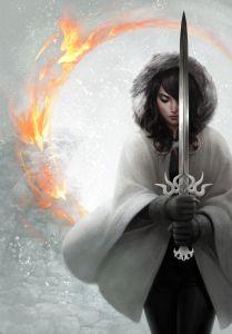 Alke - deusa da força na batalha - Jason Chan Art - Reprodução