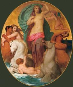 William A. Bouguereau - Vênsu Triumphant - Reprodução