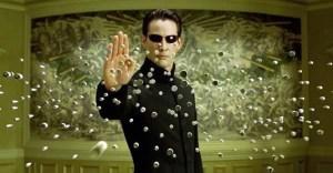 Keanu Reeves em Matrix, filme de 1999 - Reprodução