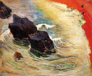 The wave Paul Gauguin