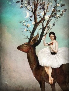 christian schloe the wandering forest