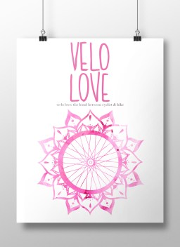 Velo Love Poster