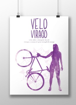 Velo Virago Poster