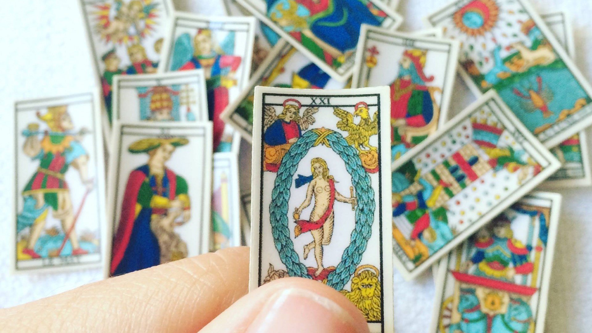 mini tarot