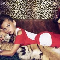 Petites poupées de luxe dans Vogue Paris