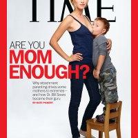 Le magazine Time, provocant, pour toi maman