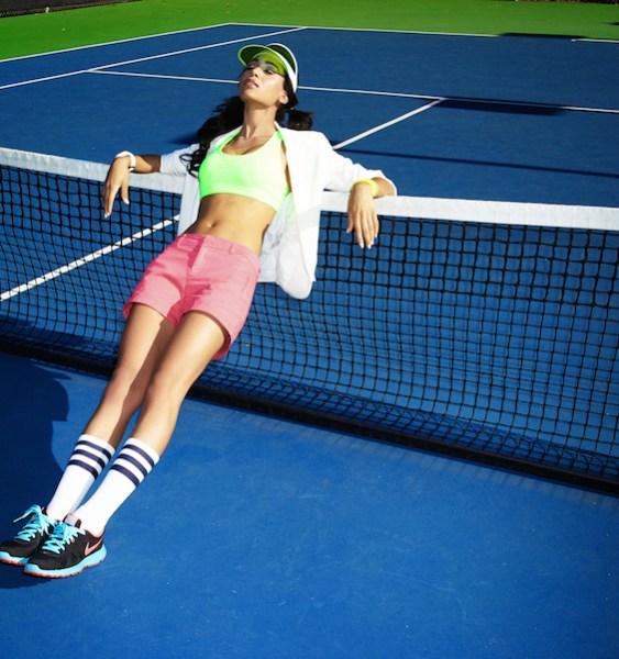 tennis fashion editorial 1