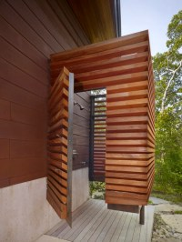 Modern Design Inspiration: Outdoor Shower Ideas - Studio ...