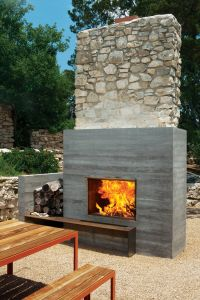 Modern Fireplaces: Rustic + Refined - Studio MM Architect