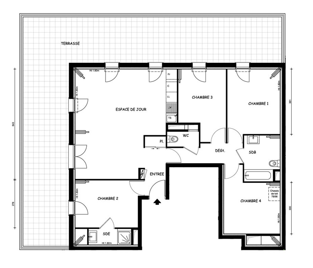 Plan D'appartement Plan D Appartement F5
