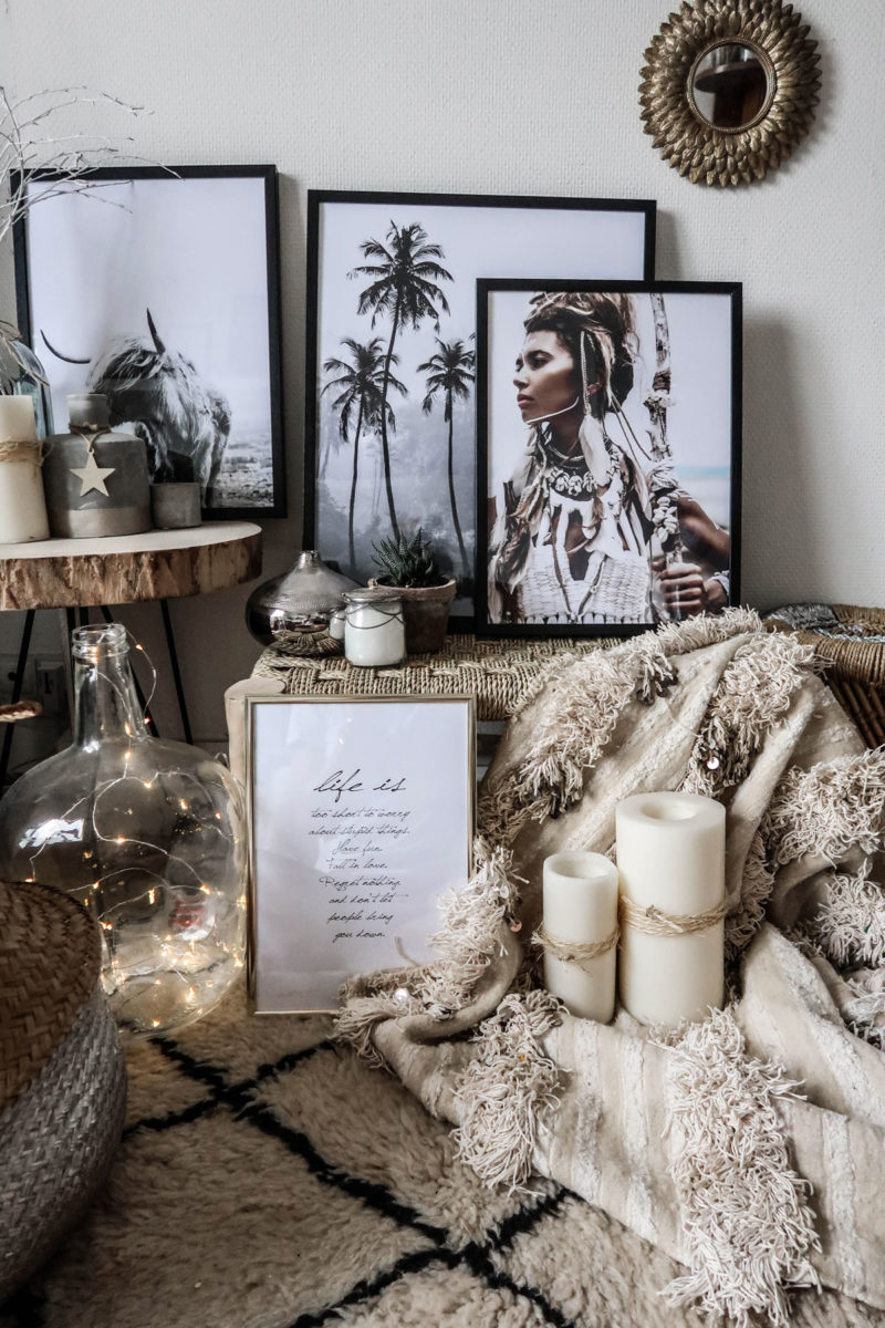 Idee Deco Petit Salon Desenio - Marieandmood - Blog Mode Et Lifestyle