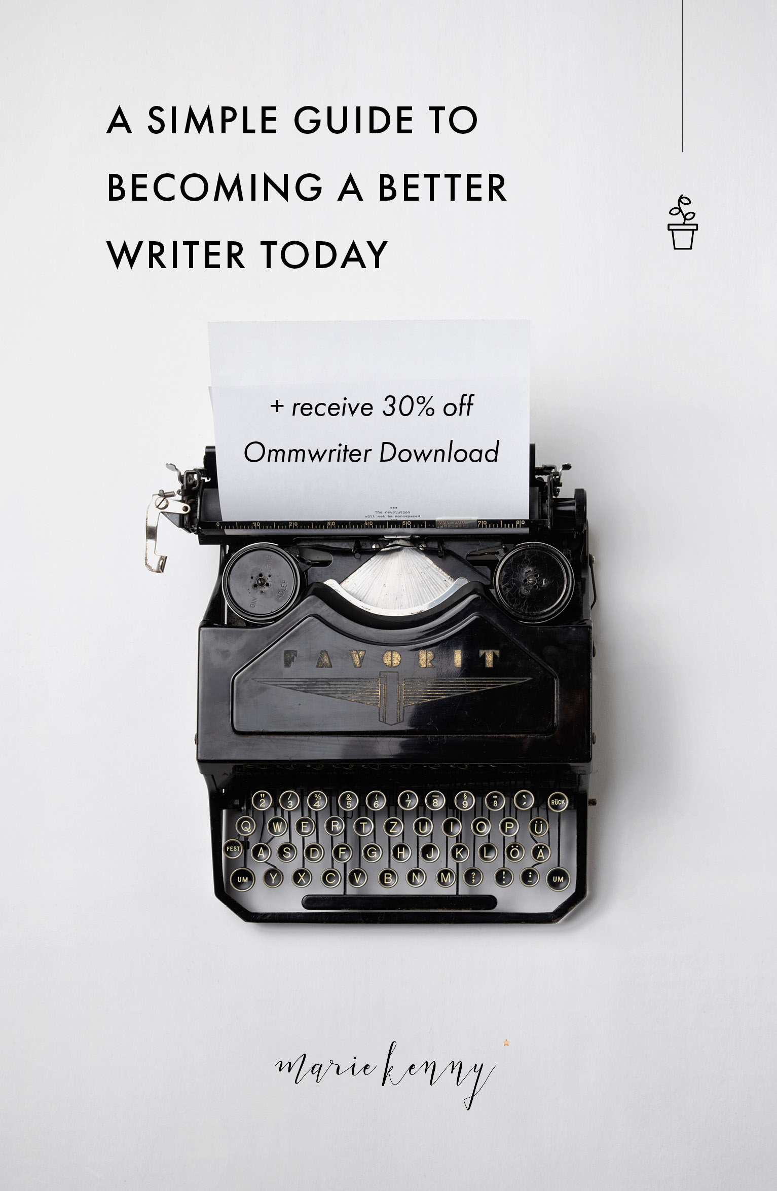 Writing Guide Write Here Write Now A Simple Writing Guide For Creatives