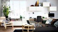 Son bureau dans le salon - Mariekke