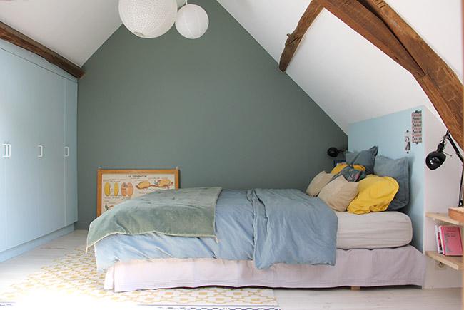 PI  Quelle couleur pour une chambre en soupente ? - Mariekke