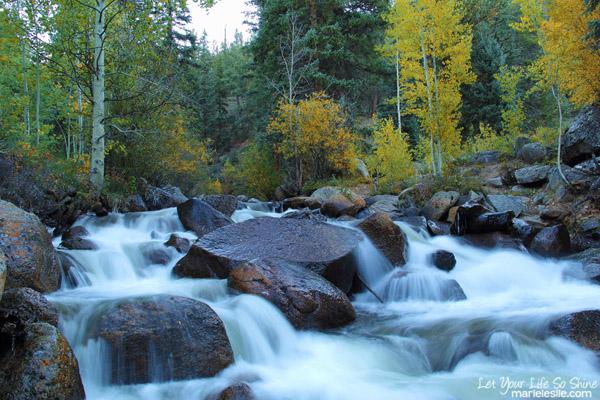 tumbling creek waterfall