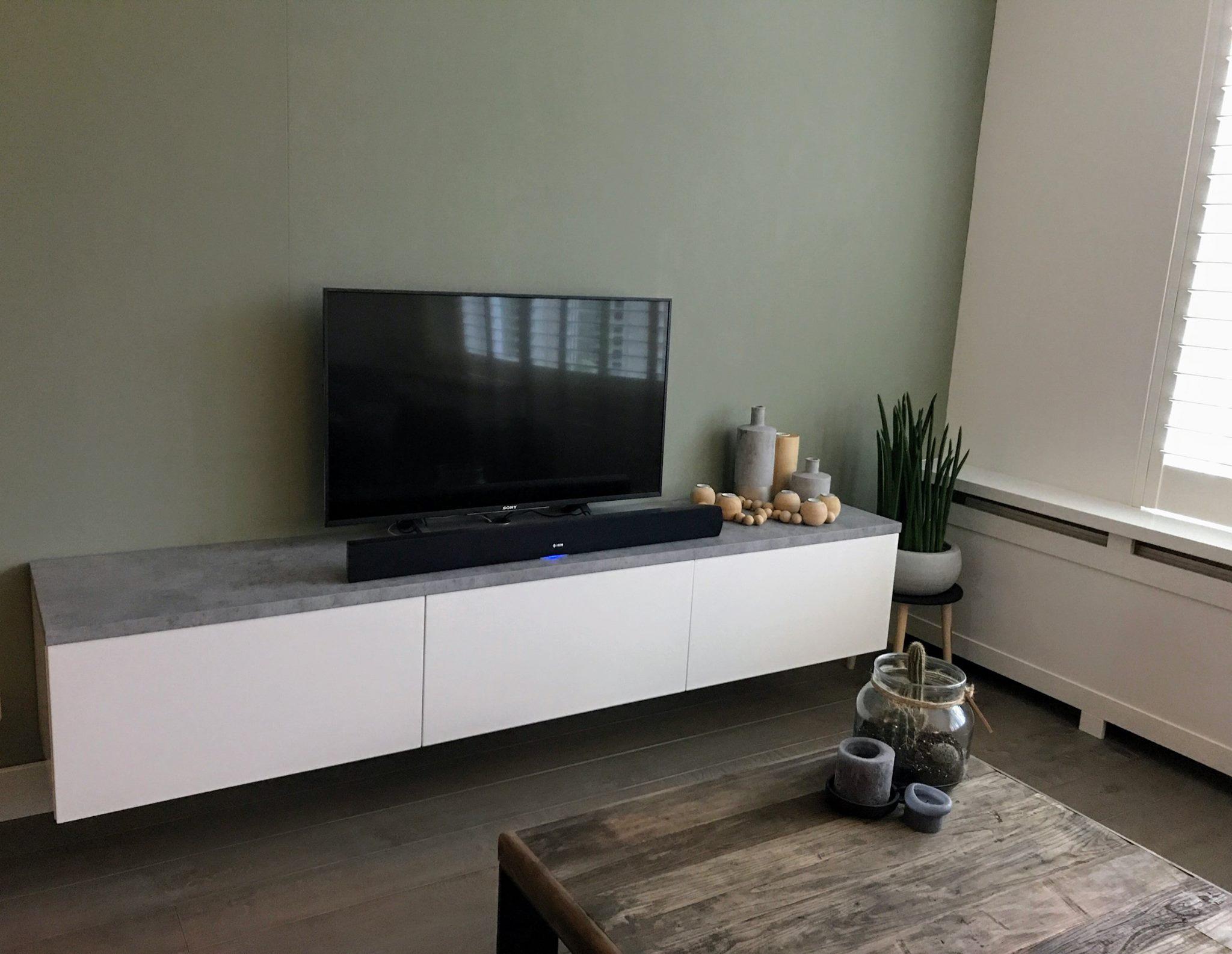 Zwevende Tv Meubels : Zwevend tv meubel maken tv meubel vision wit mdf kopen goossens